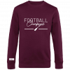 Sweat Col Rond Football Champagne