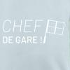 Sweat Col Rond Chef de Gare